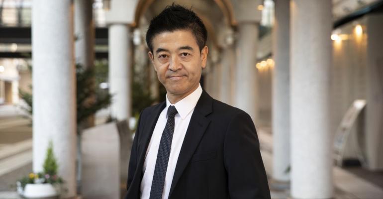 Tomomichi Takahashi  Photographer: Shiho Fukada/Bloomberg
