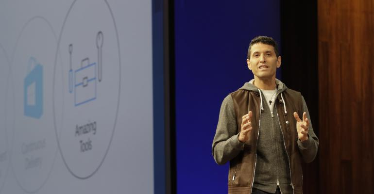 Microsoft's Terry Myerson at BUILD2017