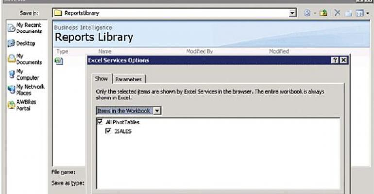 Microsoft Excel Business Intelligence Reports Library screenshot