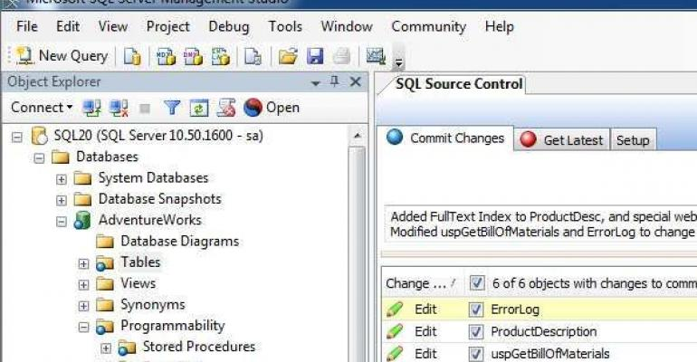 Digging into SSMS