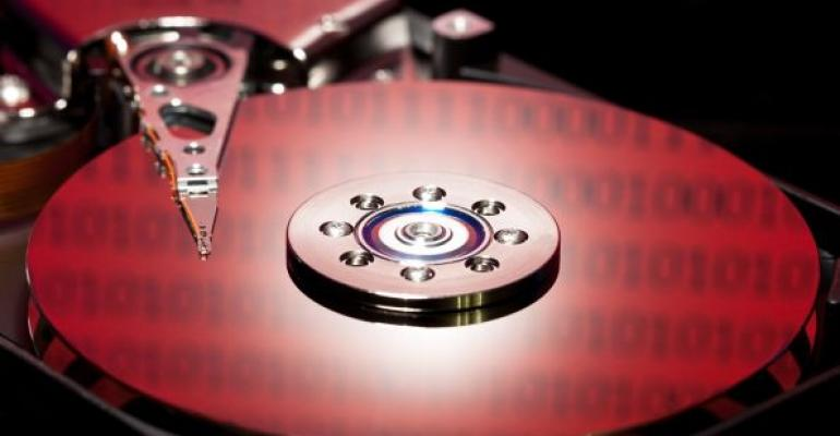 Red Hard Disk Drive