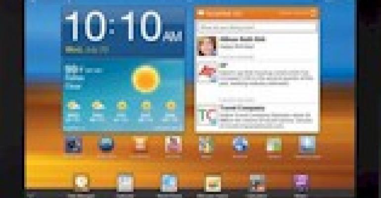 Samsung Galaxy Tab getting major software update – still hardly an iPad 2