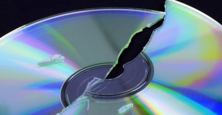 broken data disk