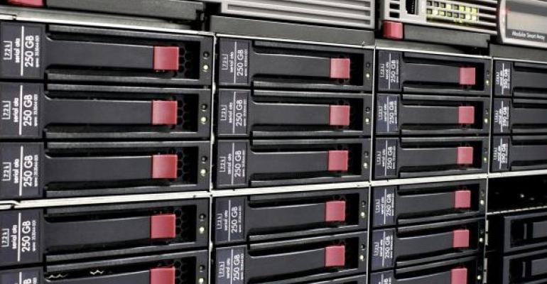 SQL Server data storage rack