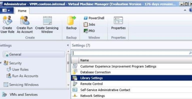 Enabling the Private Cloud with System Center Virtual Machine