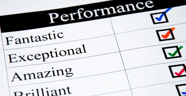 performance check list