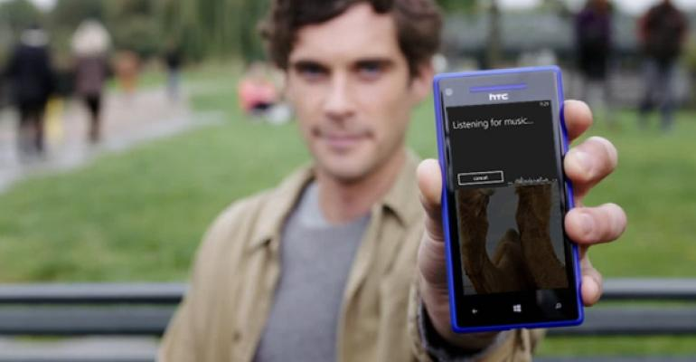 Windows Phone 8 Tip: Find Out What Song is Playing