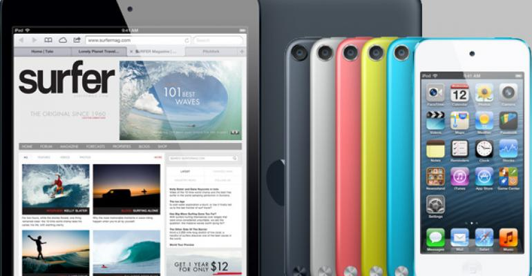 Compete Report: Apple iPod Touch + iPad Mini