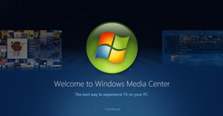 Windows 8 Tip: Get Media Center for Free