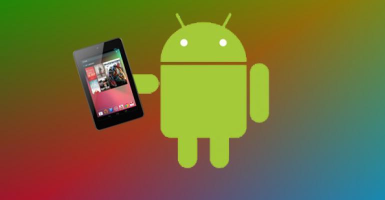 Nexus 7 + Android 4.2 Jelly Bean