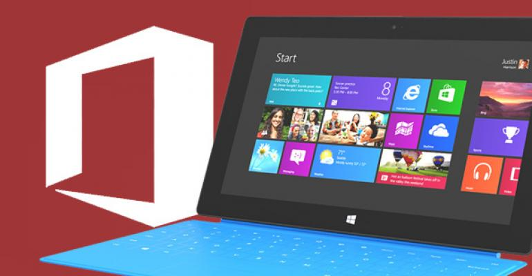 Why Surface RT? Part 2: Microsoft Office
