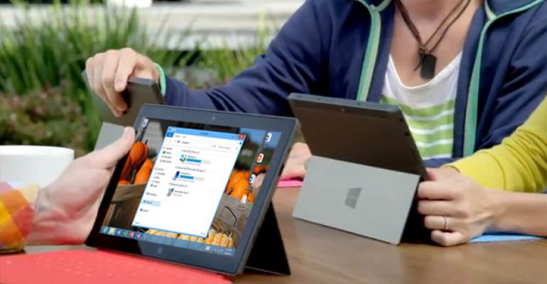 Surface Tip: Make the Desktop More Touch-Friendly