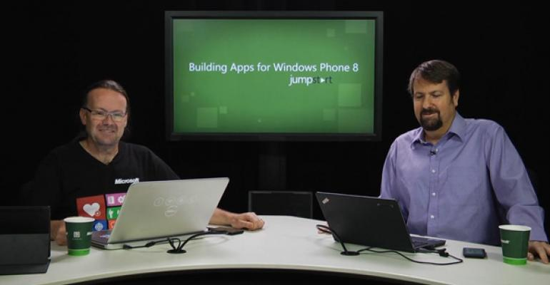 Now Available for Download: Building Apps for Windows Phone 8 Jump Start