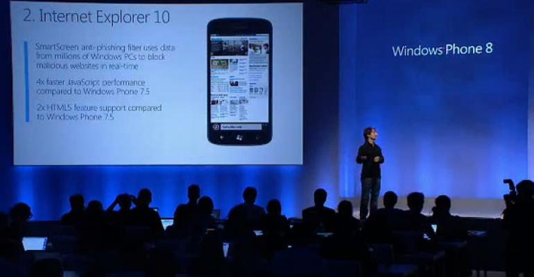 Internet Explorer 10 Mobile for Windows Phone 8