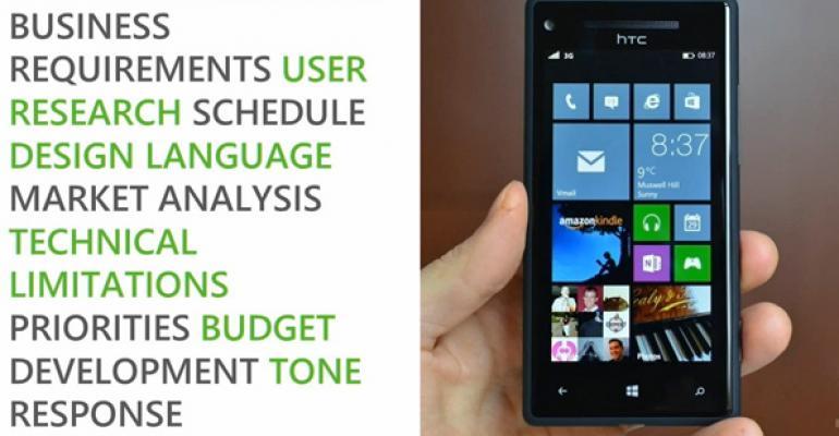 More Windows Phone Design Bootcamp Videos