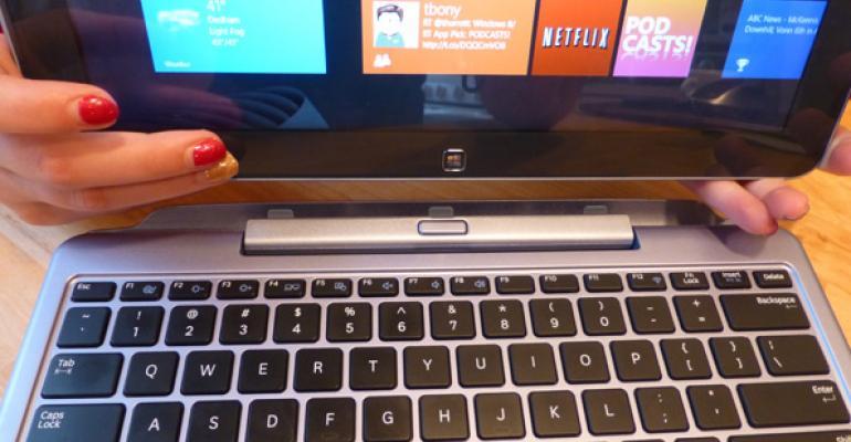 Samsung ATIV Smart PC + Keyboard Dock: Life with a Hybrid Windows 8 PC