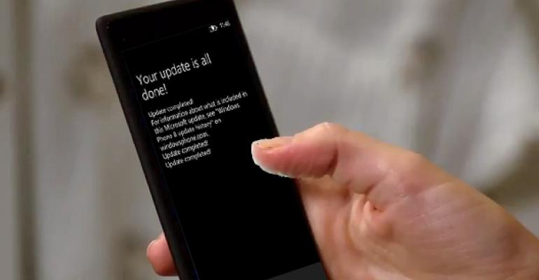 """Windows Phone 8 """"Portico"""" Heads Out to HTC Windows Phone 8X on AT&T"""
