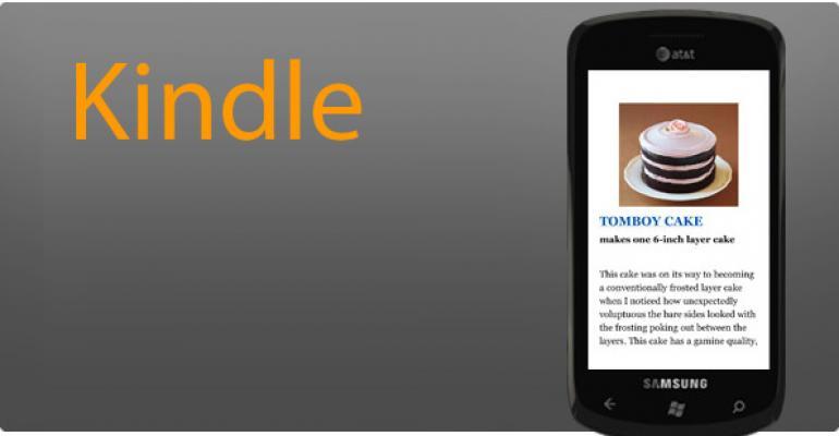 Windows Phone 8 App Pick: Kindle