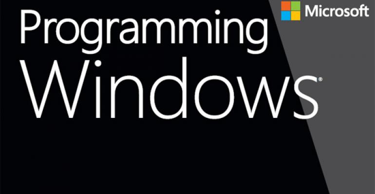 Charles Petzold Completes Programming Windows 6th Edition