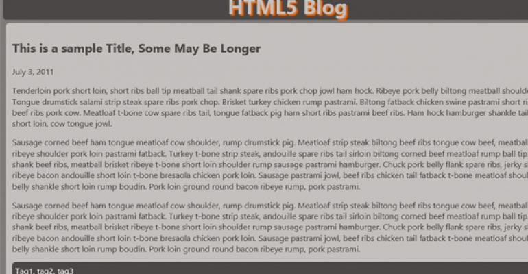 Top 10 Reasons to Use HTML5 Now