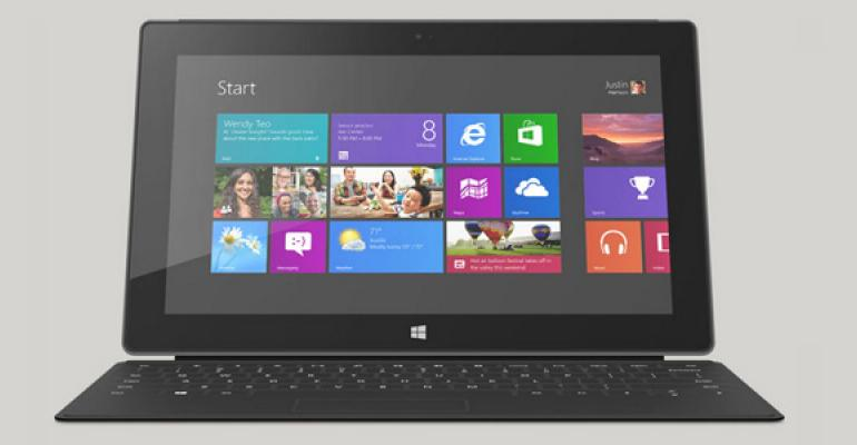 Microsoft to Launch Surface with Windows 8 Pro on Saturday