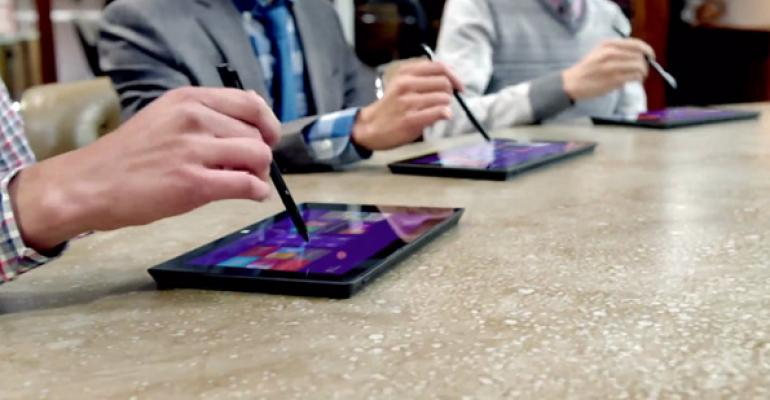 Surface Pro Commercial: The Vibe