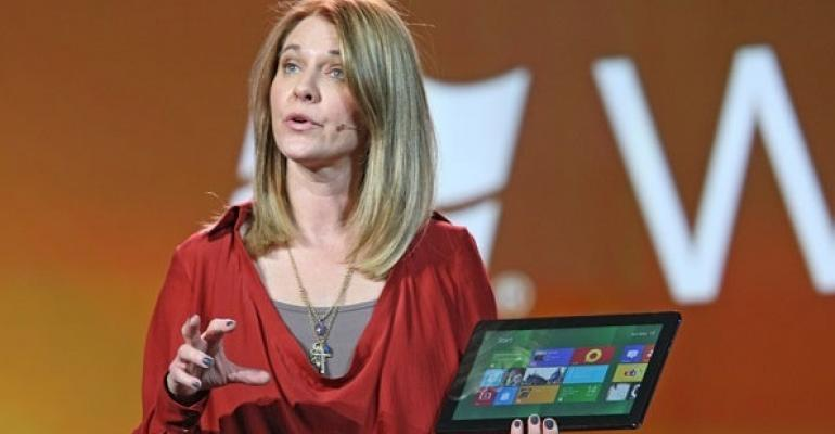 Tami Reller Talks Windows 8 at 90 Days