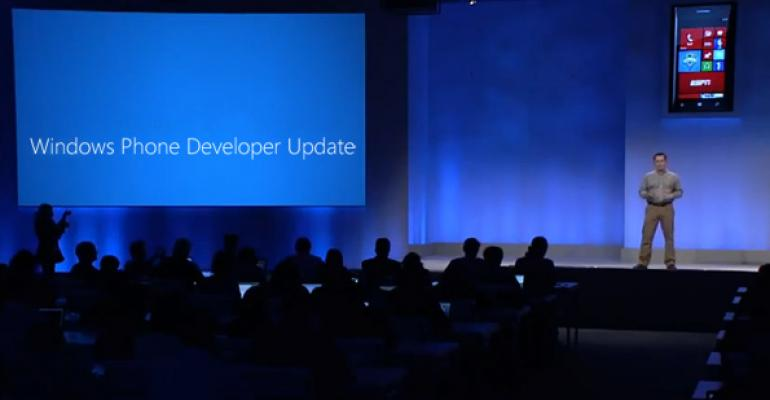 Windows Phone Developer Update