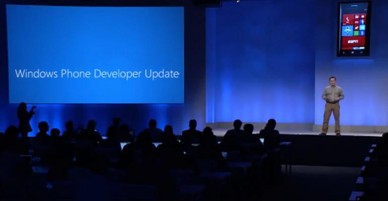 Windows Phone Developer Update