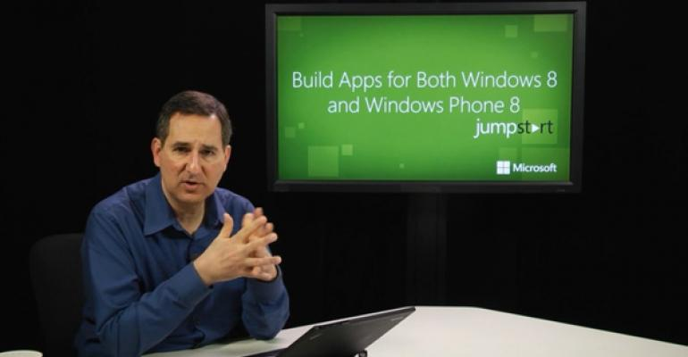 New Course: Build Apps for Both Windows 8 and Windows Phone 8