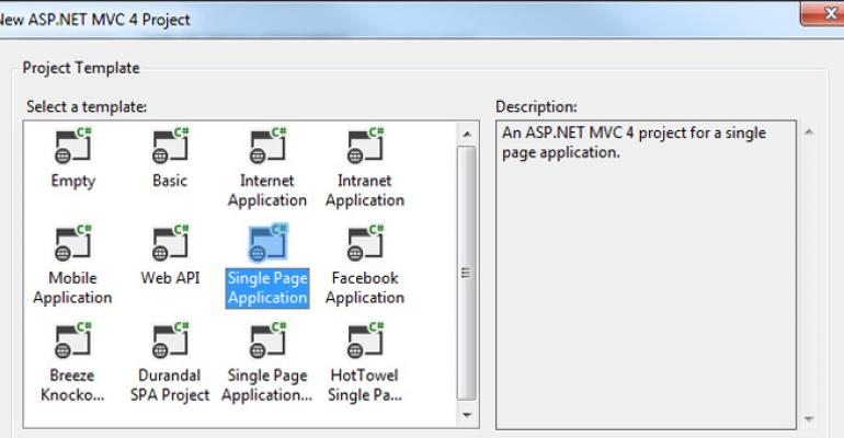 Exploring ASP.NET MVC's New Single-Page Application Templates