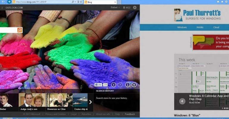 Blue's Clues: IE 11 Desktop to Include Swipe Navigation