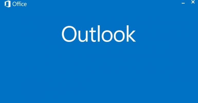 What's Happening with Outlook RT?