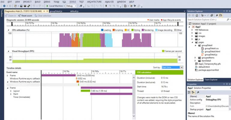 Microsofts Visual Studio 2012 Update 2 Now Available for Download