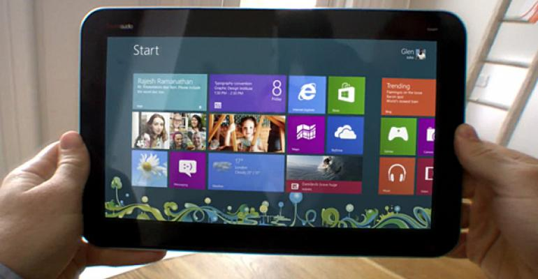 Report: Windows 8 Secures 7.5 Percent of Tablet Market