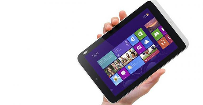 Mini-Tablets Will Not Take Over Windows Ecosystem This Year
