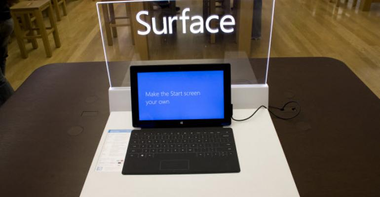 Microsoft Cracks the Top 5 in IDC's Latest Tablet Report