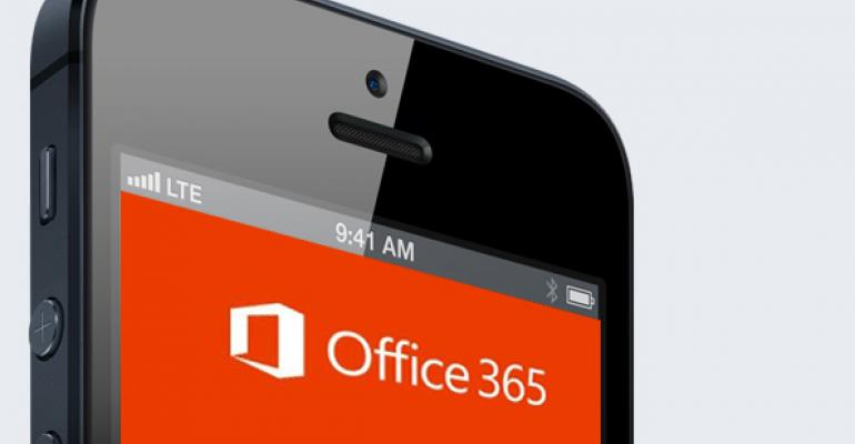 Office 365 to Go: The iOS Experience