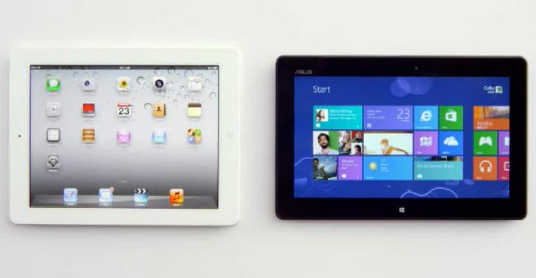 In New Ad, Microsoft Finally Takes on the iPad