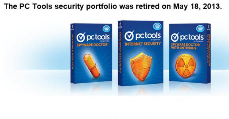 Symantec Retires PC Tools Security Portfolio