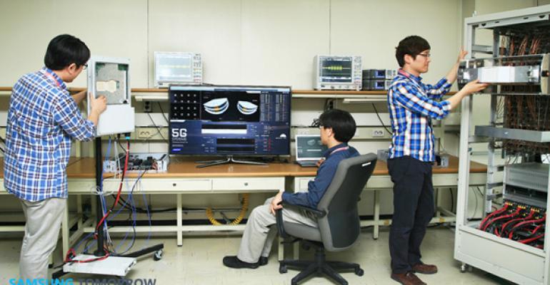 Samsung Claims 5G Wireless Technology Breakthrough