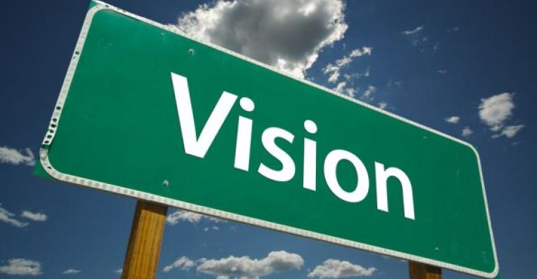 Vision road sign