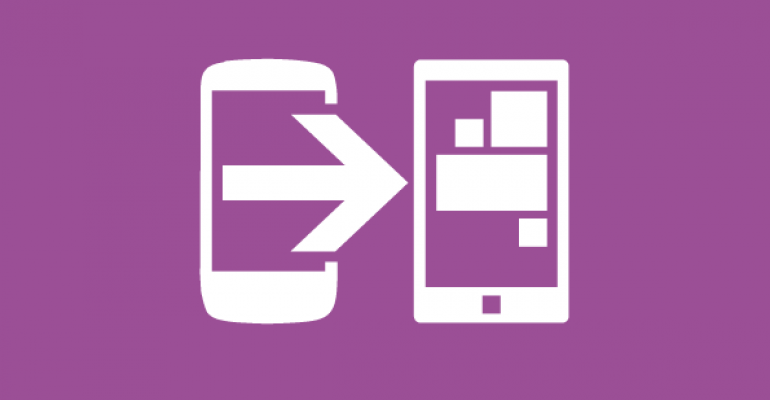 Sleeping with the Enemy: Switch to Windows Phone App for