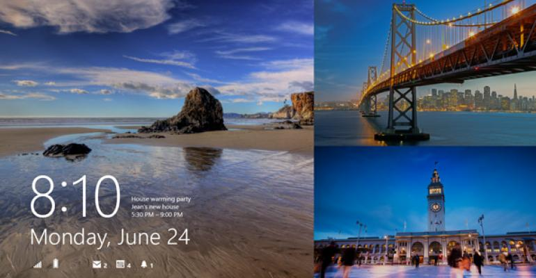 Hands-On with Windows 8.1: Lock Screen