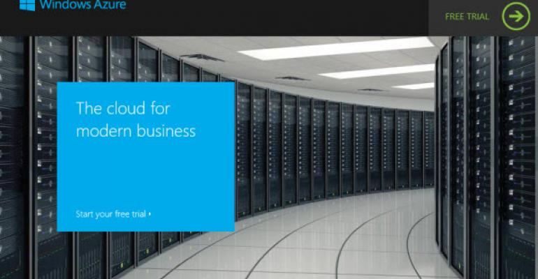 Microsoft Changes Windows Azure Trial Offer, 1 Month or $200, Whichever Comes First