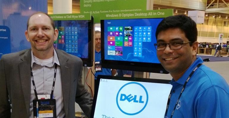 Best of TechEd 2013 Finalist: Dell Dazzles with Its S2340T Multitouch Monitor