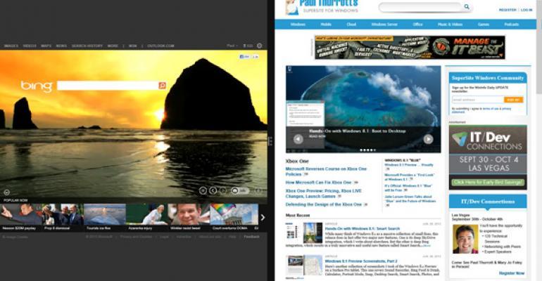 Hands-On with Windows 8.1: Internet Explorer 11