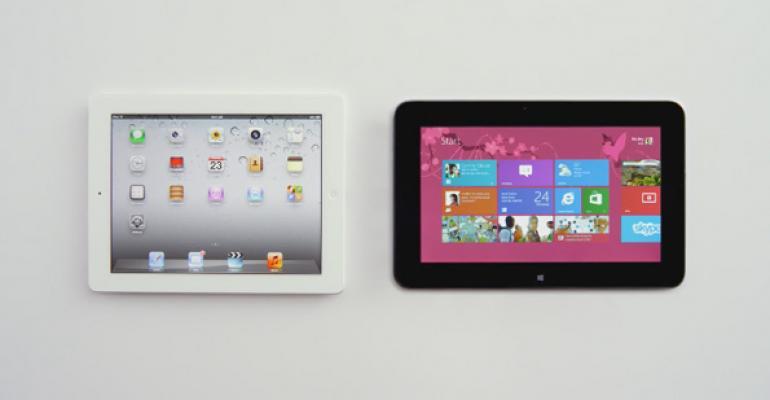 Microsoft Again Takes on iPad in New Ad