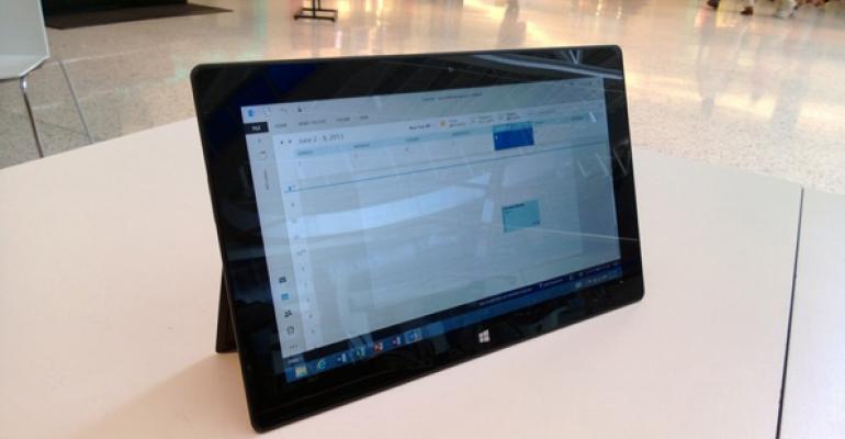 Microsoft Outlook 2013 RT Sneak Peek