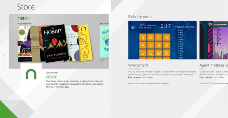 In Blue: Windows Store 2.0